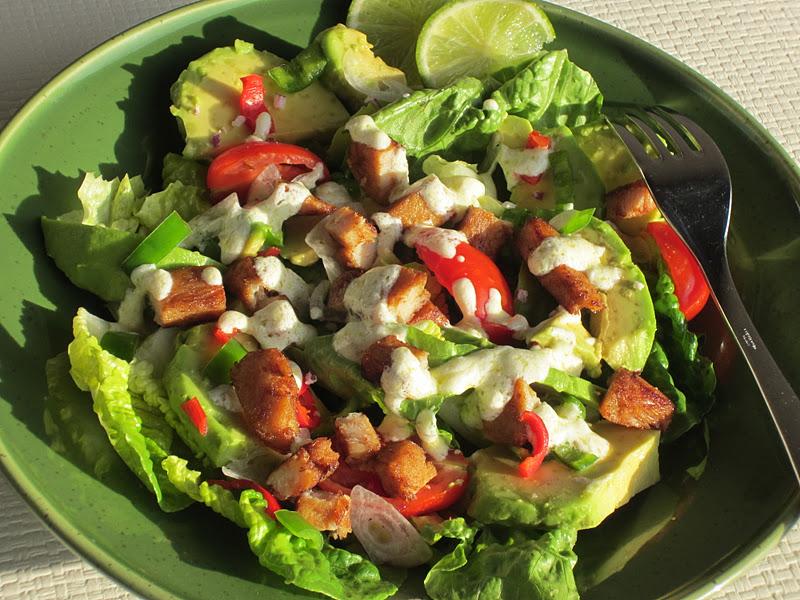 insalata con tacchino e peperoncini