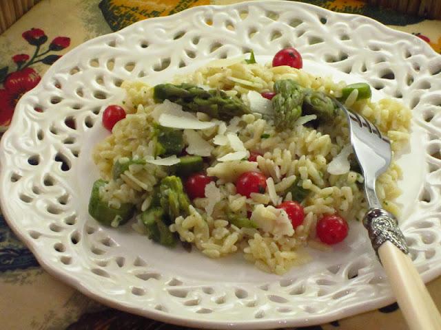 insalata di pastina e asparagi