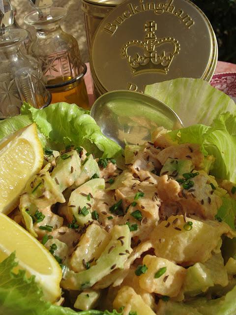 insalata di pollo di
