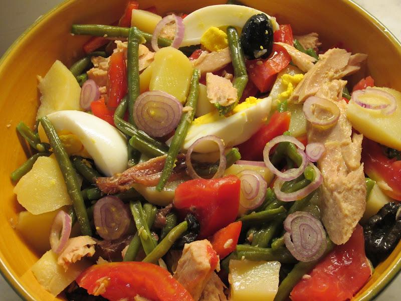insalata nizzarda salade niçoise
