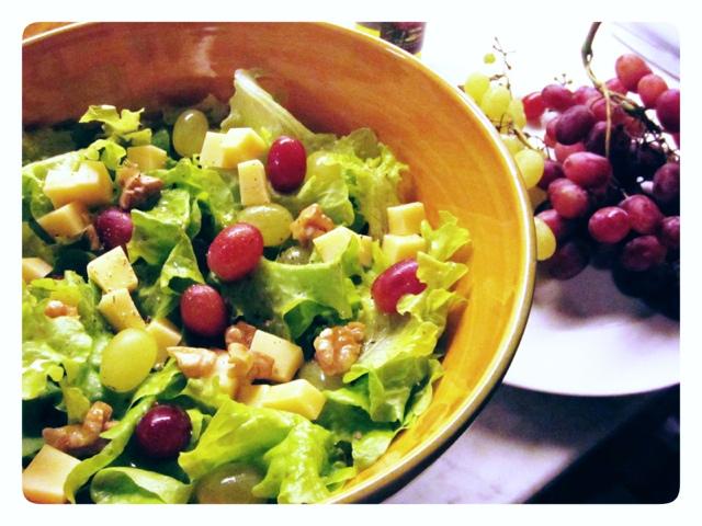 insalata con frutta