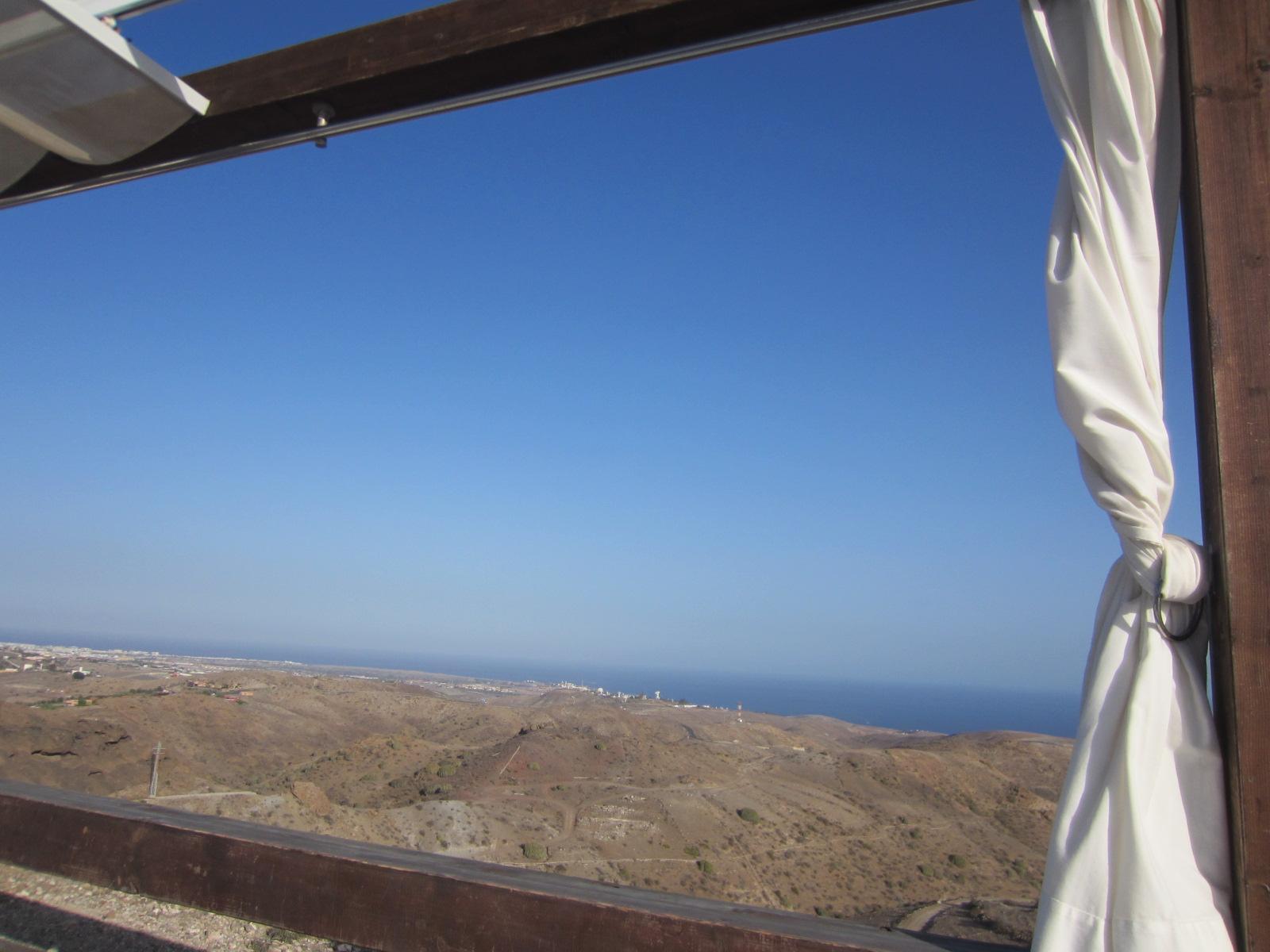 Vista su paesaggio desertico