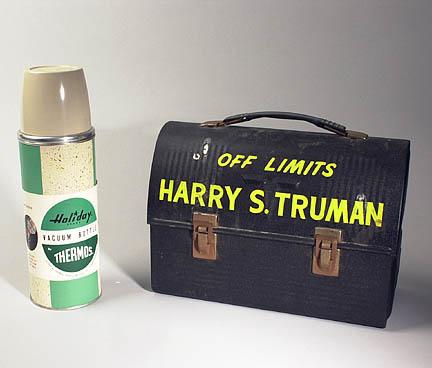 La lunch box del presidente americano Truman