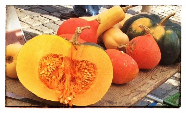 Zucche al mercato di Landshut