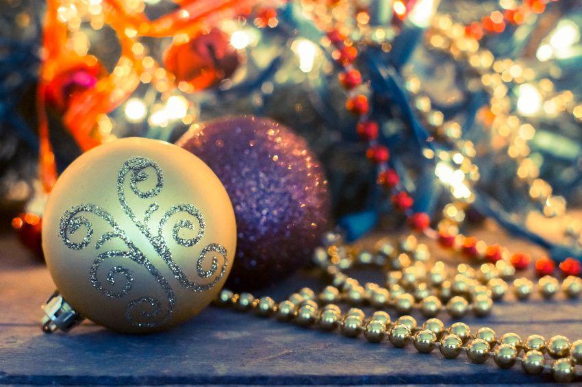 Decorazioni natalizie per l'albero