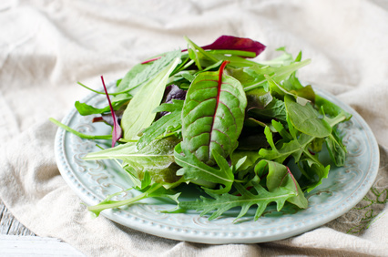 Mix di foglie da insalata