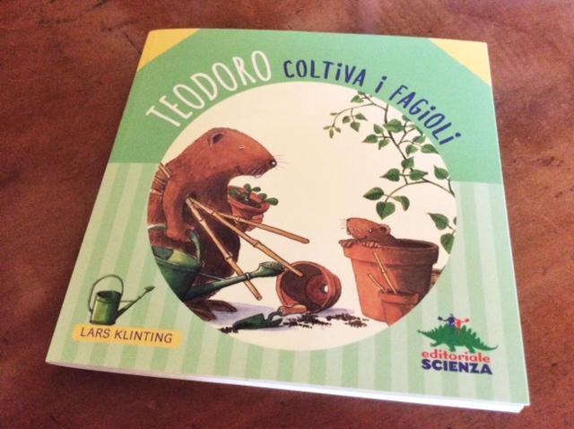 copertina del libro Teodoro coltiva i fagioli