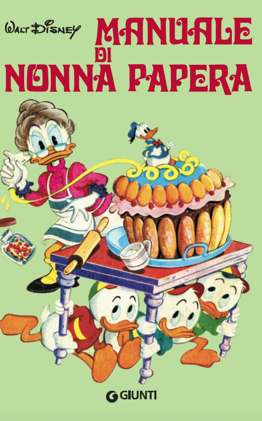 copertina del Manuale di Nonna Papaera