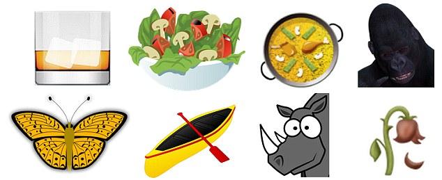varie emoji