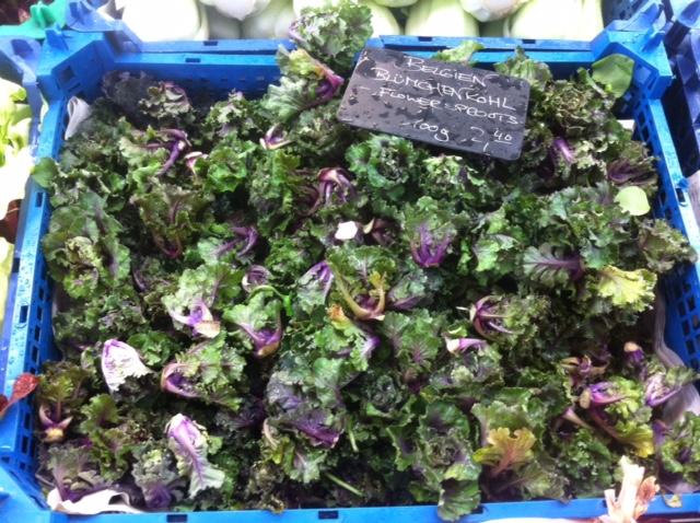 cassetta di Flowers Sprout al mercato