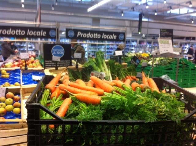 Reparto ortorutta di supermercato per #ilmioortolano