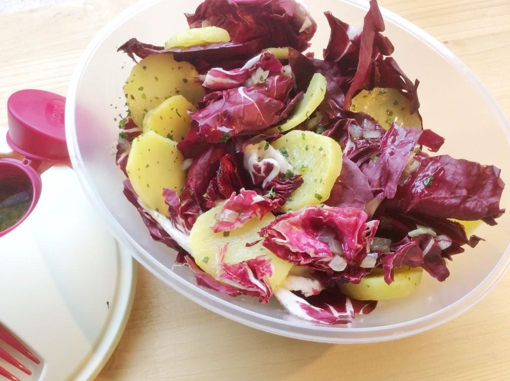 insalata di radicchio e patate