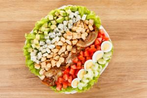 cobb salad alla maniera di Nancy Reagan