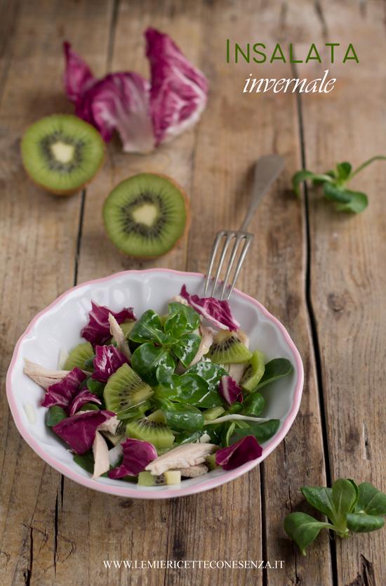 insalata con pollo e kiwi