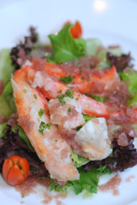 Insalate americane: crab louie salad