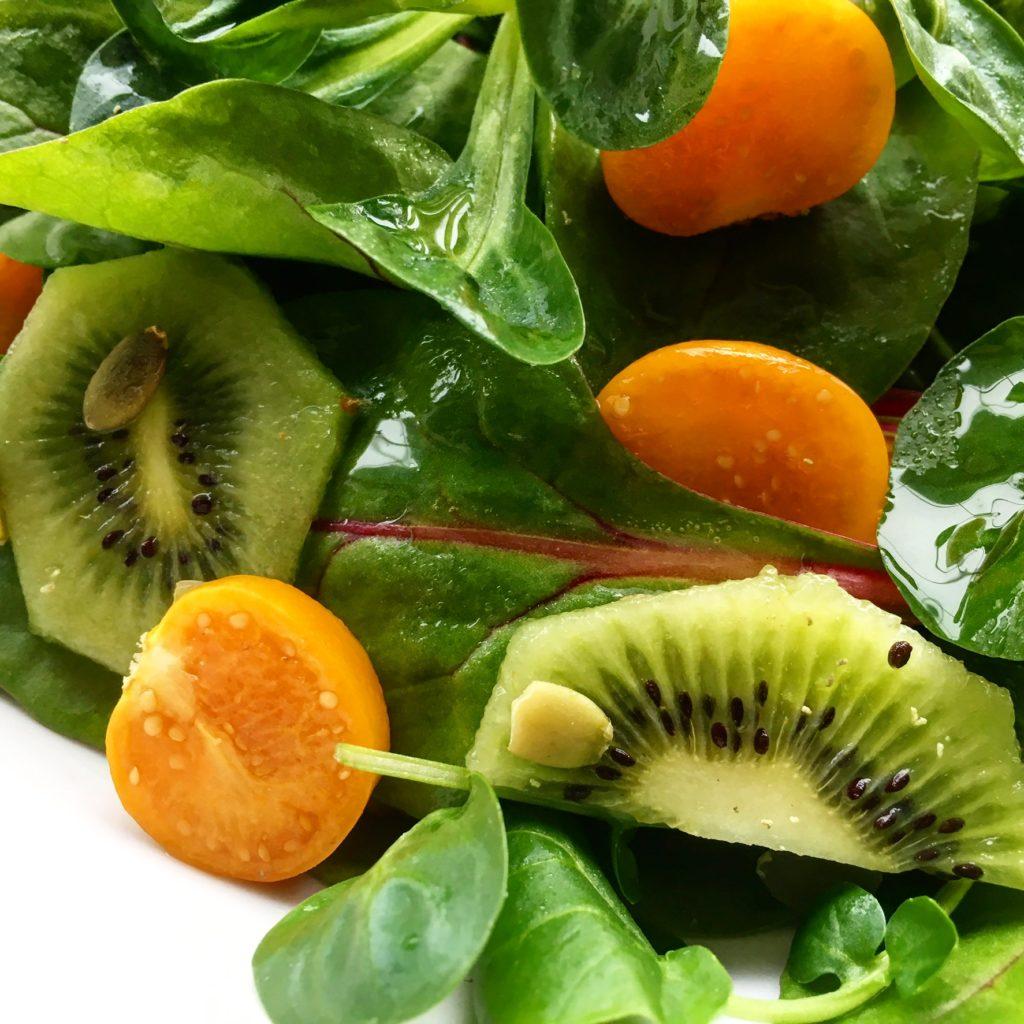 insalata con alchechengi