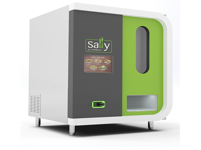 il salad robot sally