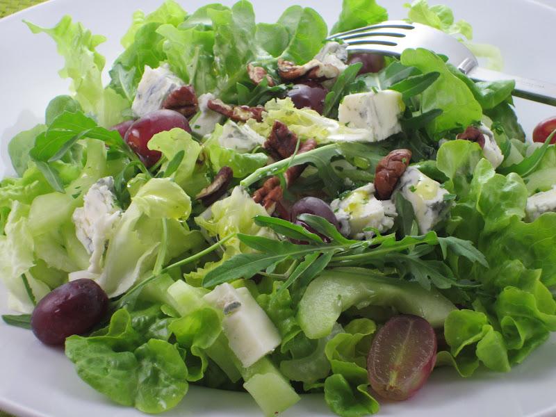 insalata con gorgonzola