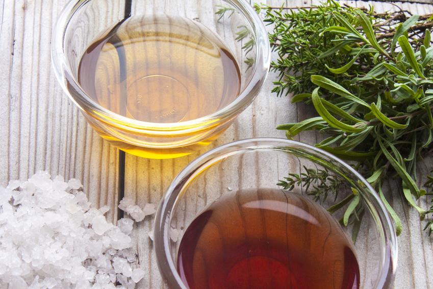 Ingredienti per la vinaigrette